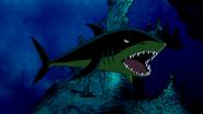 Beast Boy as Shark