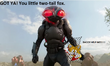 Black Manta kidnaps Tails