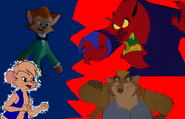 Danny and Timmy Brisby V.S. Red and The Mouse King