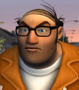 Dwayne LaFontant in Over the Hedge (Video Game)