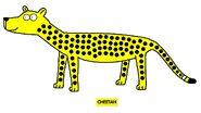 Emmett's ABC Book Cheetah