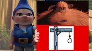 Gnomeo (With Migo) treathens Lincoln