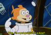 Sandy Cheeks as Goldfish