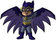Simon as Batmunk