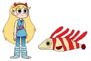 Star meets Lionfish