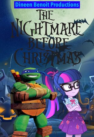 The Nightmare Before Christmas (Dineen Benoit Productions Style) Poster.png