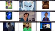 Waluigi, Trixie (EG), Mr. Sykes, Dory, Marina, Tulio, Selina Kyle-Catwoman, Jeffrey Ridgway Jr., Angus Scattergood and Applejack (EG)