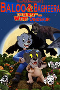 Baloo and Bagheera The Curse of the Were-Dinosaur Poster