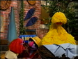 Biff and Roxie find Big Bird asleep in his nest when they heard his snoring