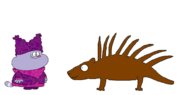 Chowder meets North American Porcupine