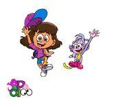 Genderbend dora and boots by purpledino100 ddqp6u4-pre