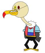 Mr Delbert Vult-R (Geppetto) (stick)