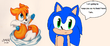 Sonic keeps Tails as his best friend