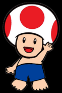 Toad's Bathing Suit