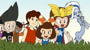 Wonder Milly and her Friends were finally found the workshop