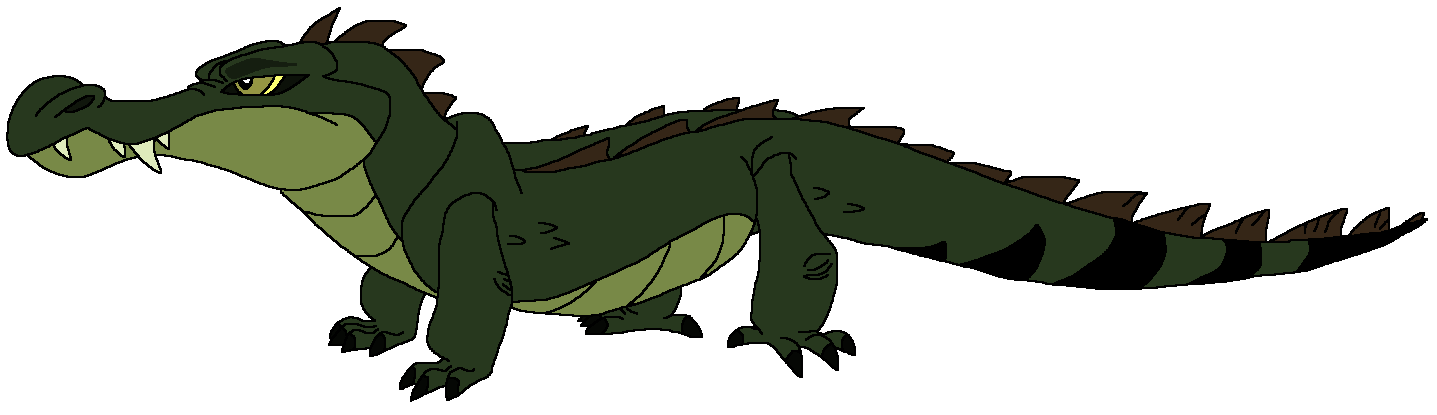 Crusty the Crocodile