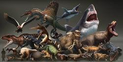 Dinosaurs vs. Beasts by Arvalis.jpg