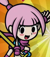 Kat in Game & Wario