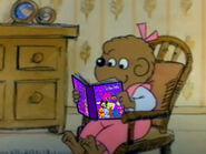 Sister bear is reading dino mite friends book by brandontu1998-de3vljt