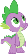 Spike looking up by myardius-d5egok3