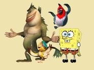 The Missing Link Nico Pedro and SpongeBob