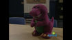Barney Doll in Picture This!