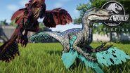 Featherd Blue