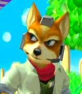 Fox McCloud in Super Smash Bros. Melee