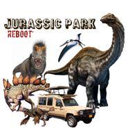 Jurassic Park Remake Poster