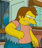 Nelson Muntz in The Simpsons Movie