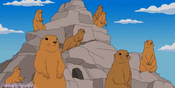 Simpsons Prarie Dogs