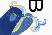 Alphabet Zoo Beaver