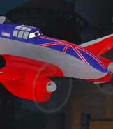 Bulldog in Planes (Video Game)
