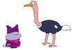 Chowder meets Ostrich