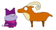 Chowder meets Urial