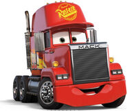 Mack from cars 3 as truckee