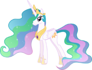 Princess Celestia (My Little Pony) as The Blue Fairy