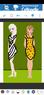 Zebracloth Elsa and Leopardcloth Anna
