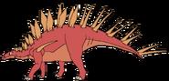 Jay Spacebot kentrosaurus form thelandbeforetime in thespacebotsadventuresseries