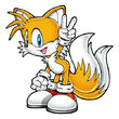 Tails the Fox (from Sonic) as Wizzle