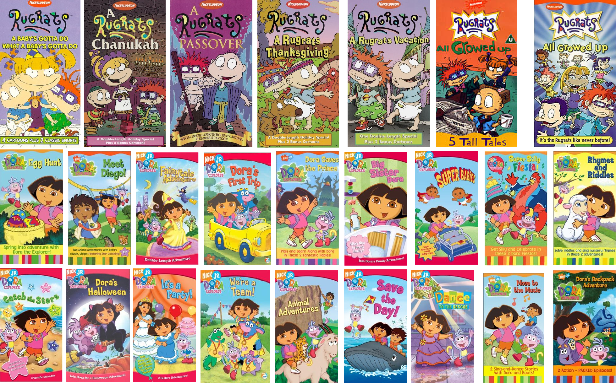 Disney's ABC Kids on VHS and DVD Collection