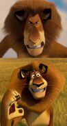 Alex the Lion Drake meme
