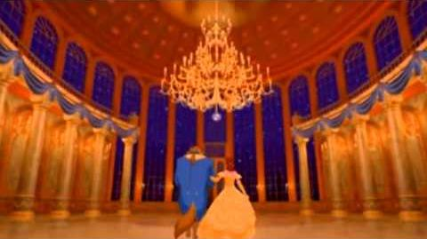Belle and Beast sings Somewhere Out There