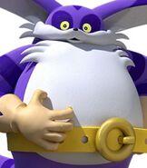 Big the Cat in Team Sonic Racing