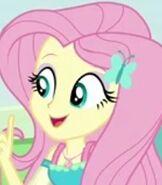 Fluttershy in My Little Pony Equestria Girls Rollercoaster of Friendship