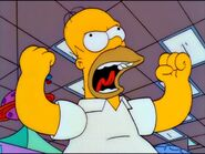 Homer Simpson is furious.