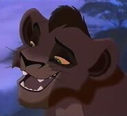 Kovu (Young) in The Lion King II Simba's Pride (1998)