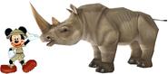Mickey White Rhino