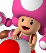 Toadette in Mario Party 7