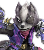 Wolf O'Donnell in Super Smash Bros. Ultimate